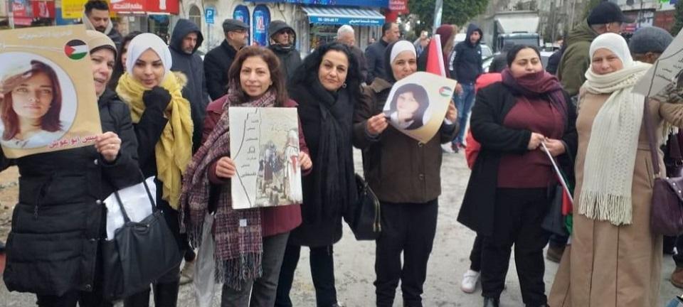 Marcha Mundial de Mujeres conmemora Día de la Tierra Palestina