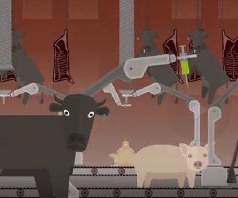 ¿Qué tiene que ver la producción industrial de carne con la crisis climática?